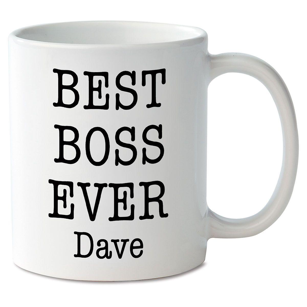 Best Boss Ever Personalized Mug