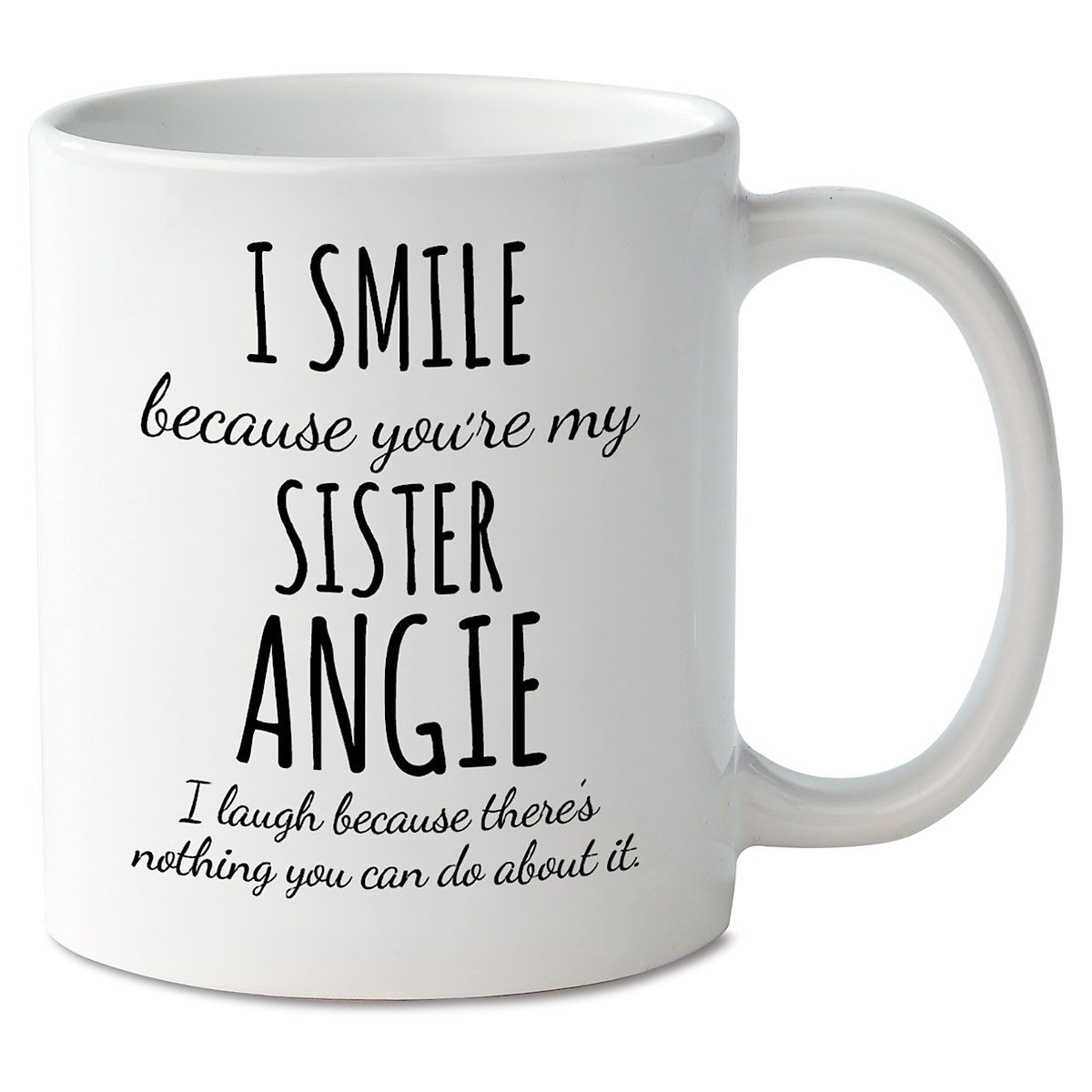 Smile Sister Personalized Mug