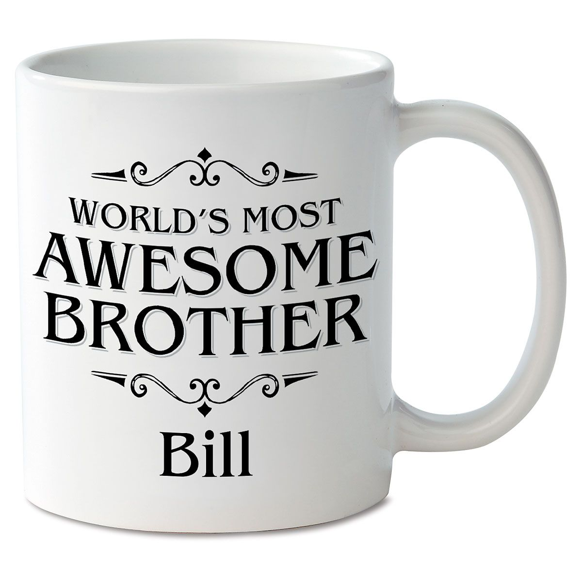 World's Most Awesome Brother Personalized Mug