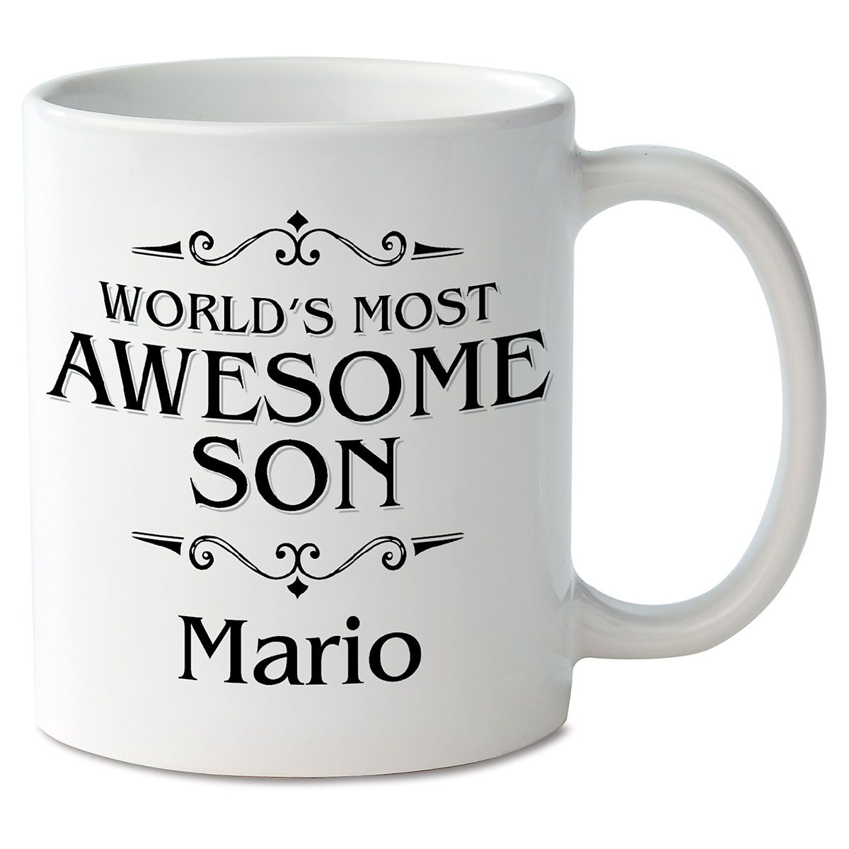 World's Most Awesome Son Personalized Mug