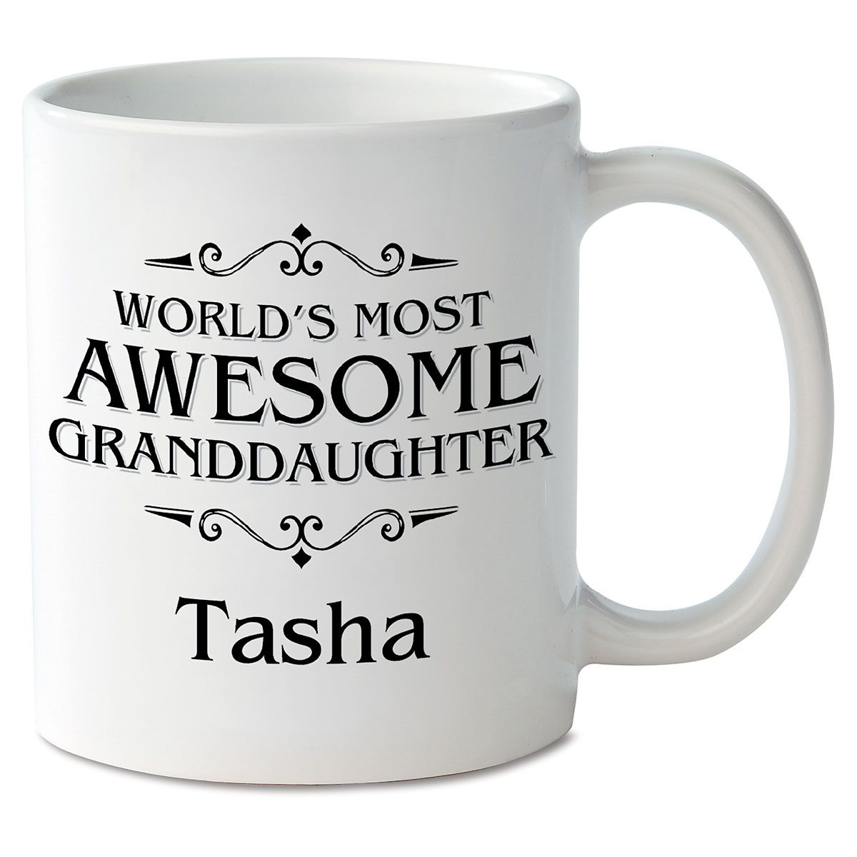 World's Most Awesome Granddaughter Personalized Mug
