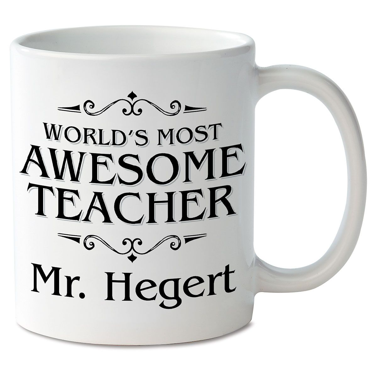 World's Most Awesome Teacher Personalized Mug