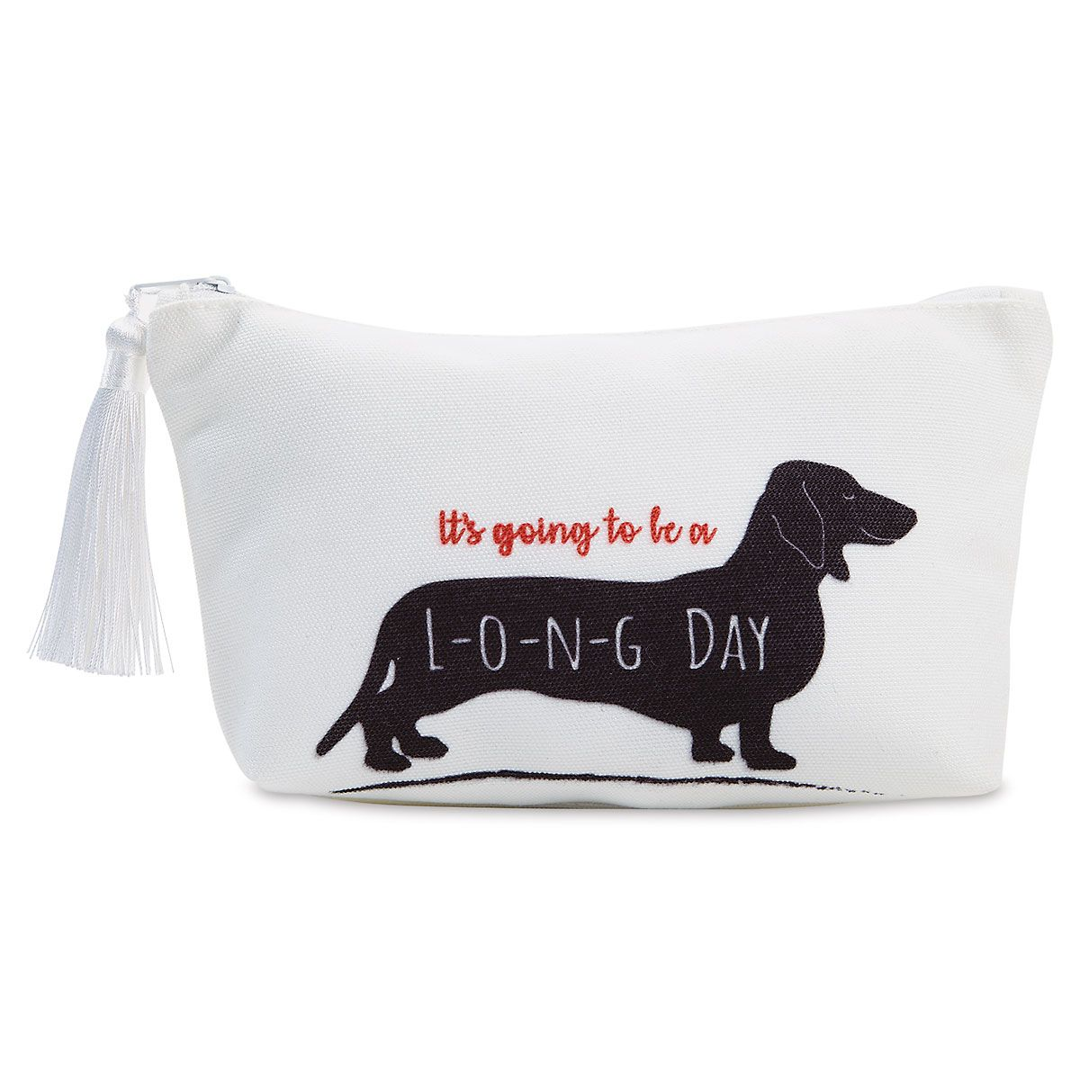Dachshund Cosmetic Bag & Tote