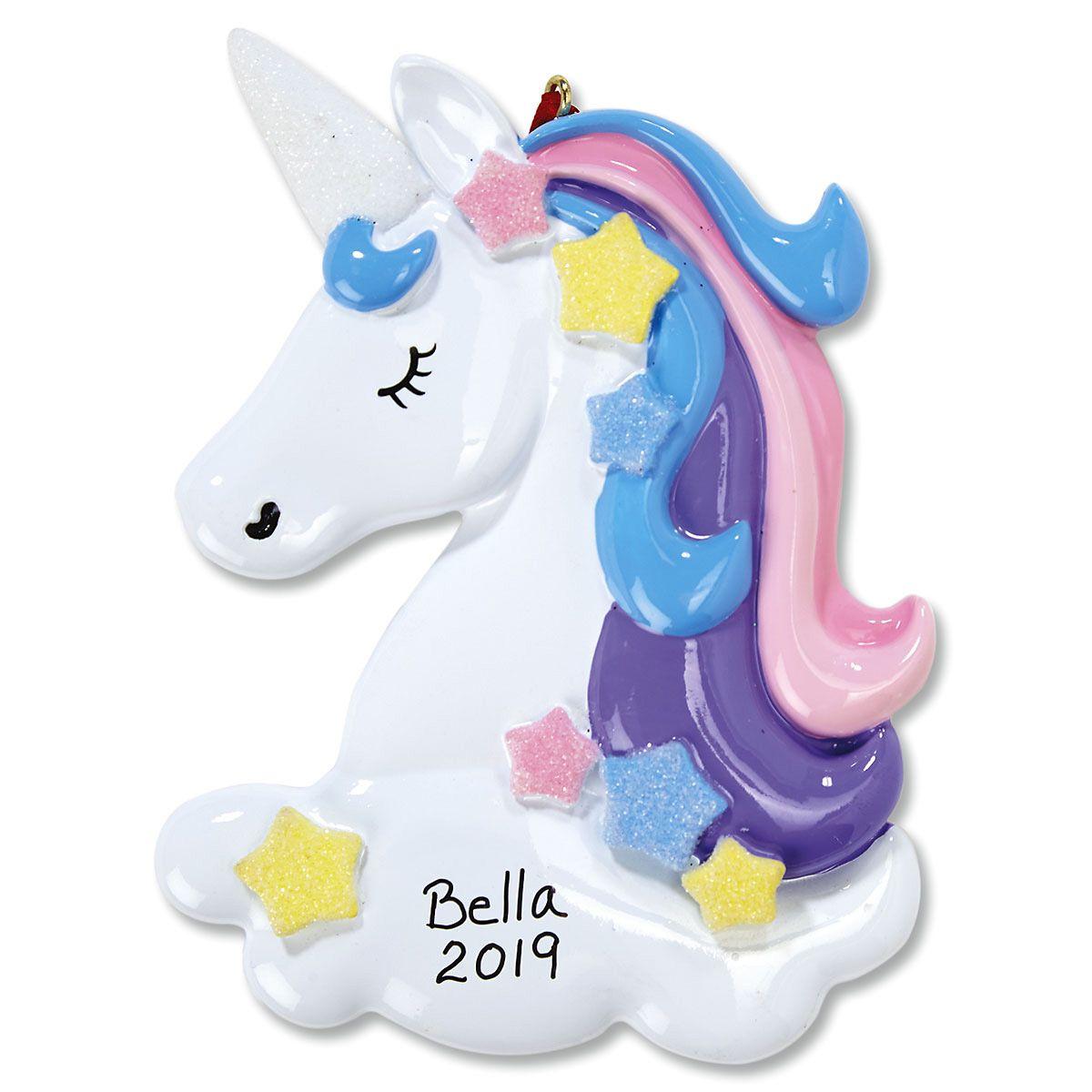 Unicorn Christmas Ornament