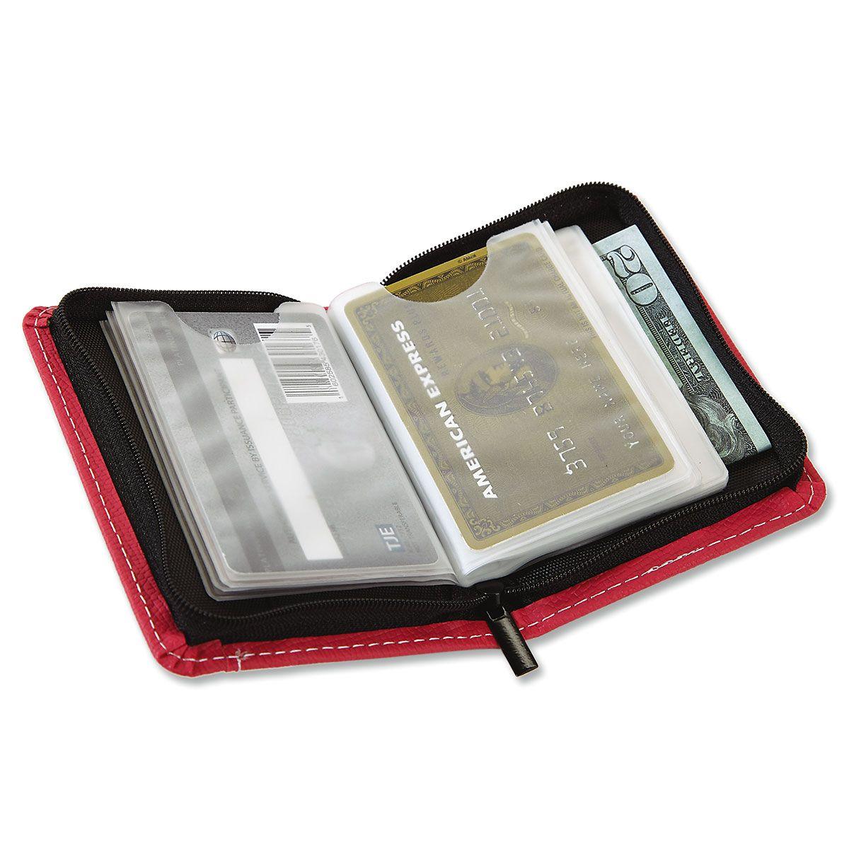 RFID Pink Card Wallet