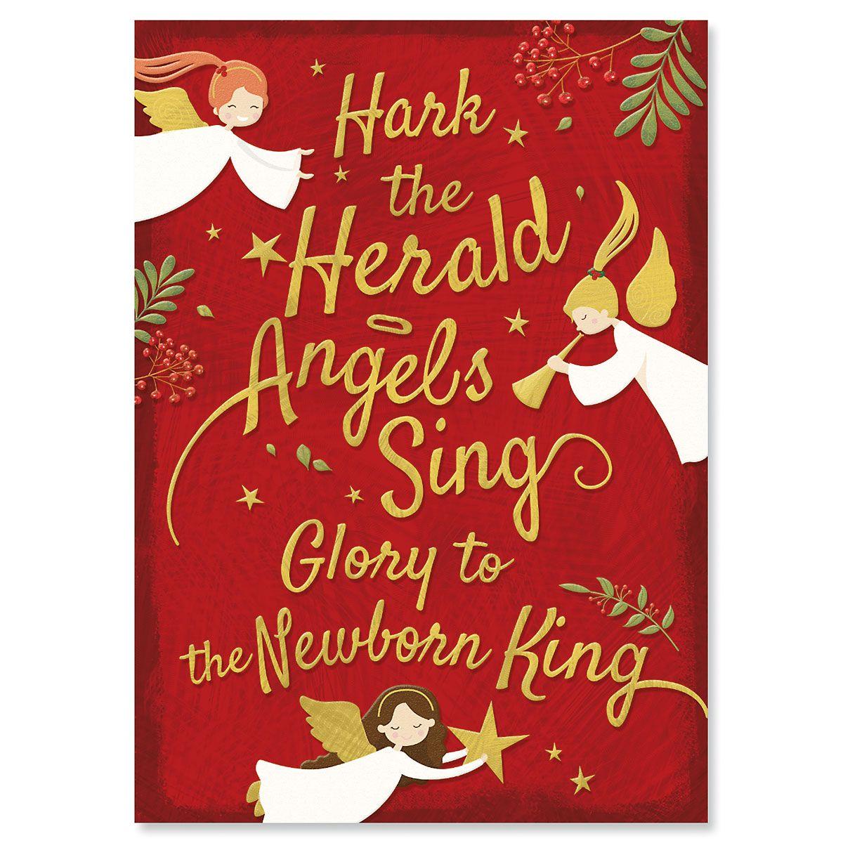 Newborn King Religious Christmas Cards