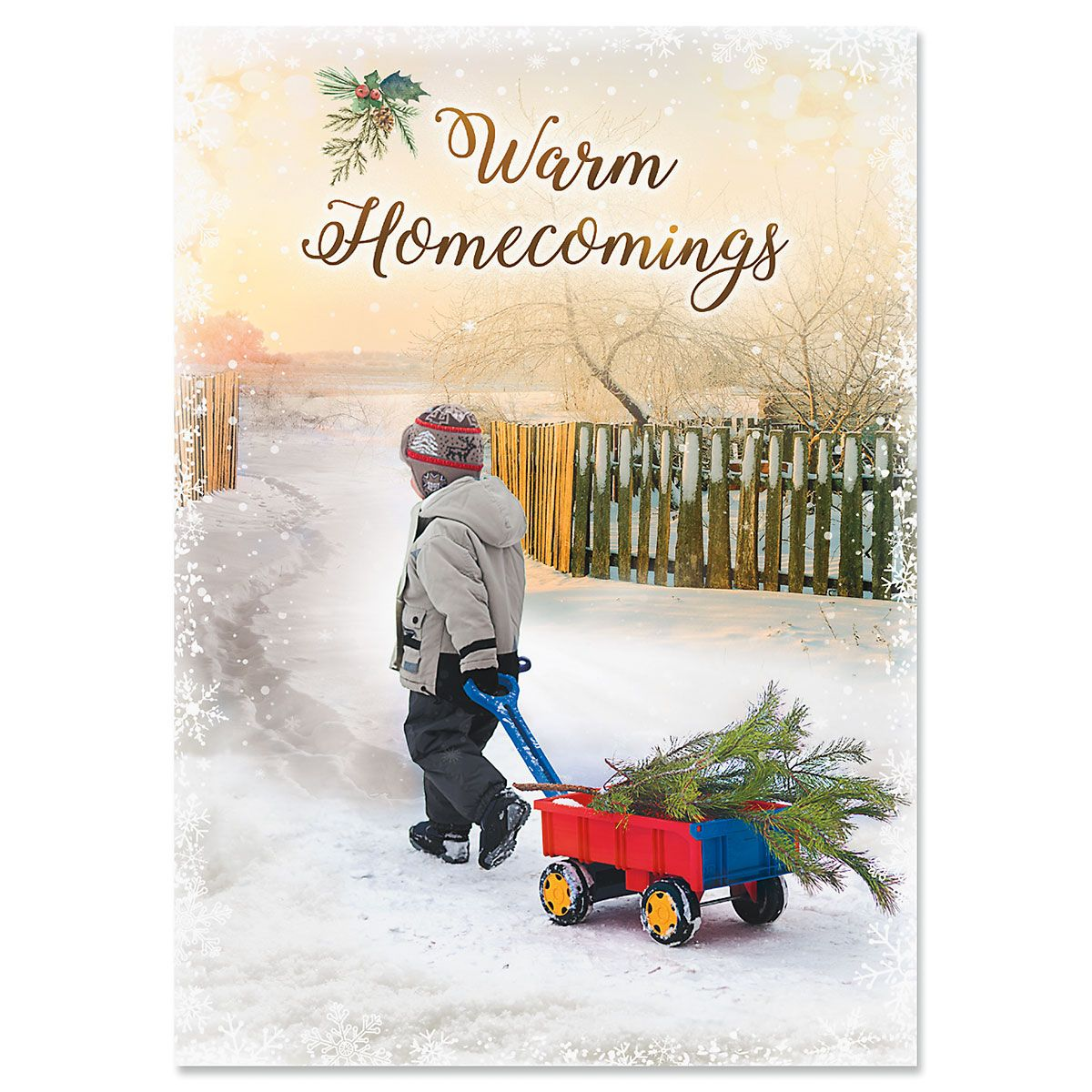 Bring Home the Tree Christmas Cards