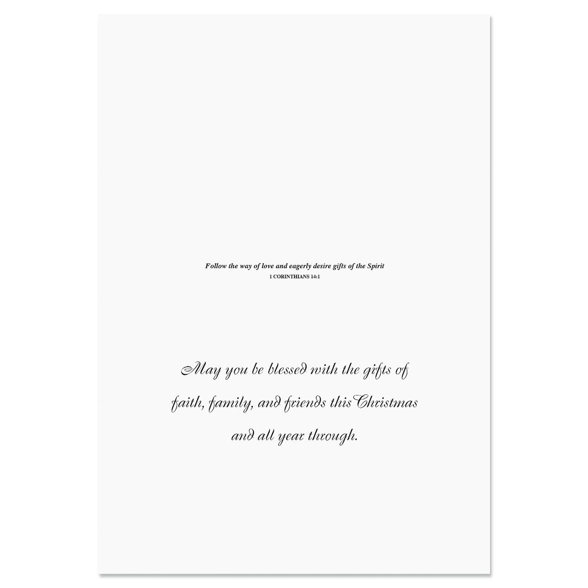 Religious Christmas Gifts.Jesus Is The Gift Religious Christmas Cards