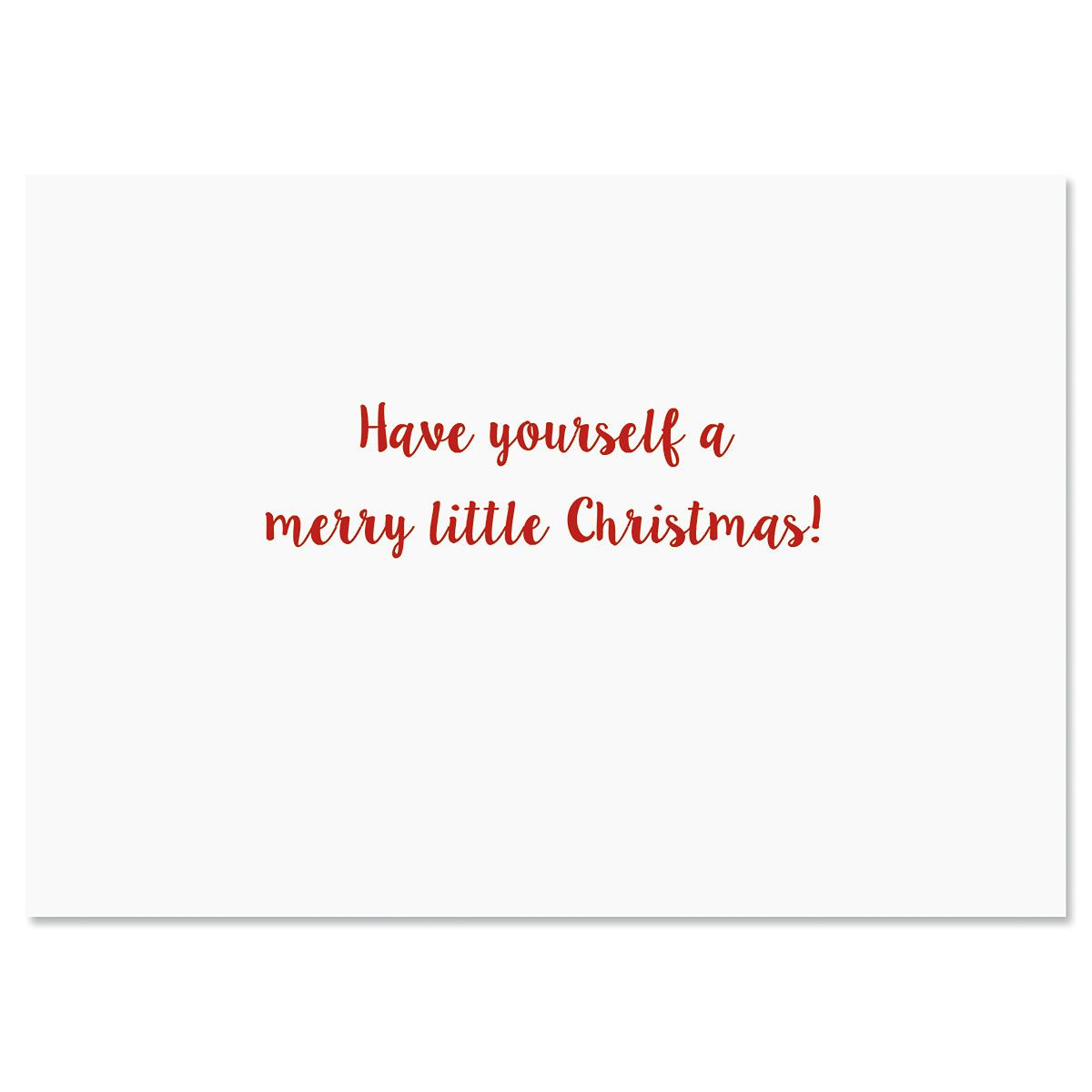 Merry Little Christmas Cards