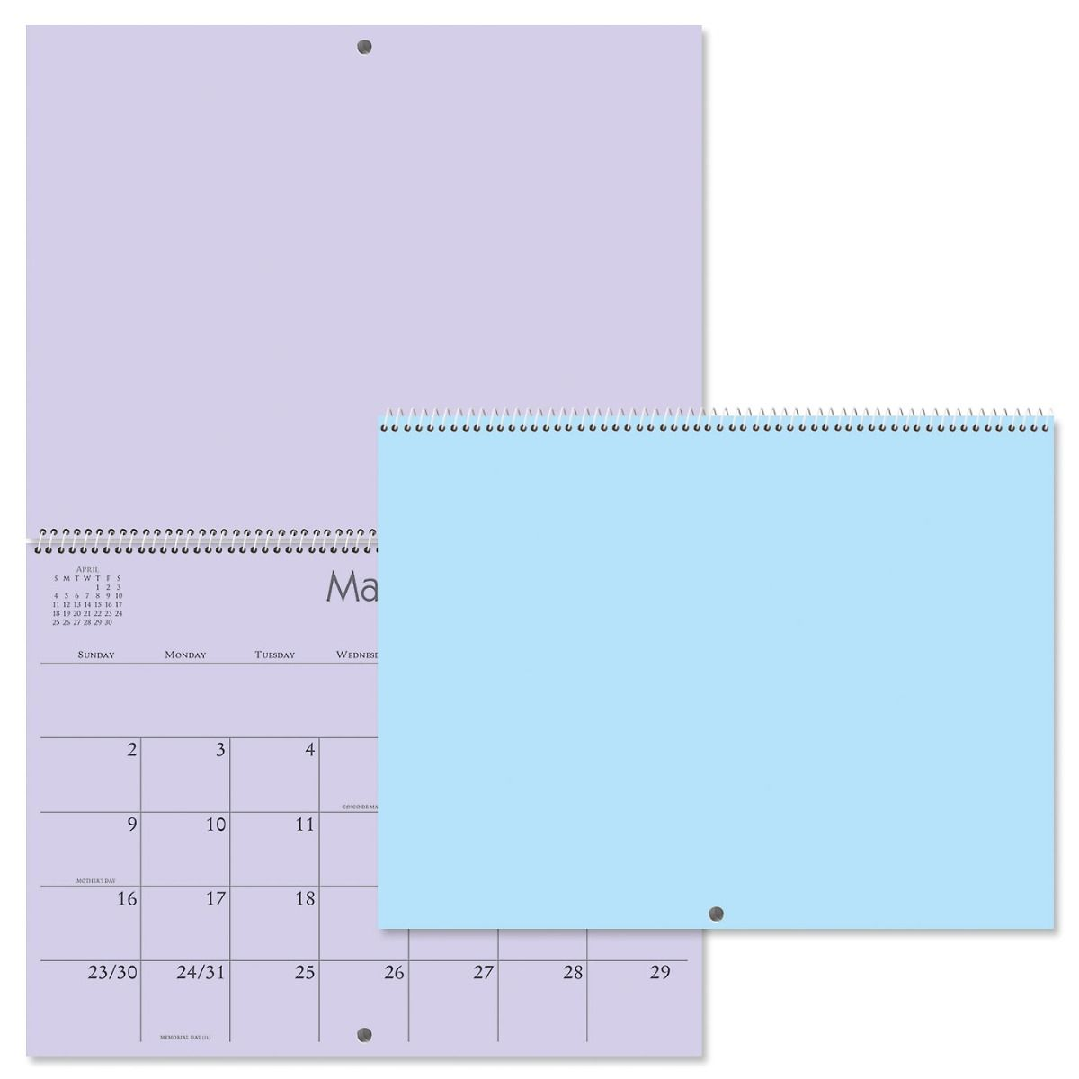 2021 Colored Pages Crafters' Calendar