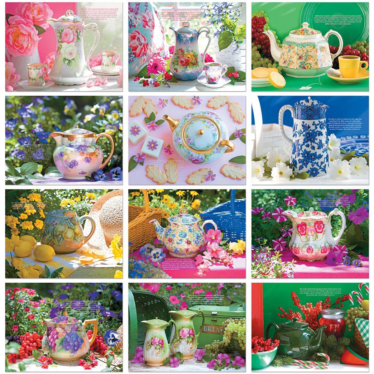 2021 Teapots Wall Calendar