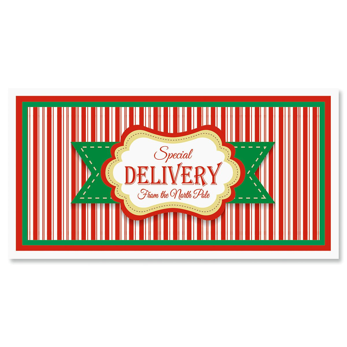 North Pole Special Delivery Envelopes