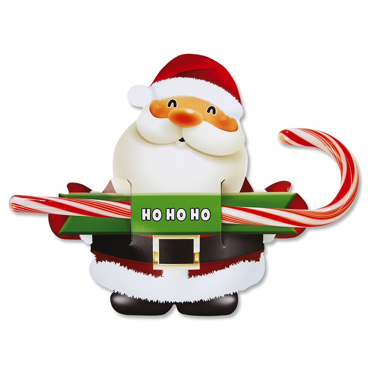 Santa Candy Cane Holders