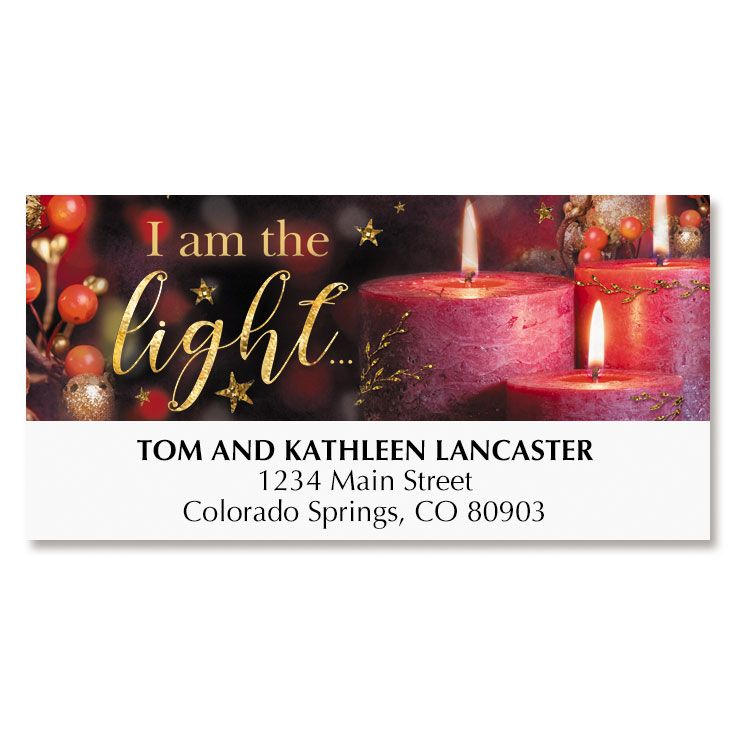Light of God Deluxe Address Labels