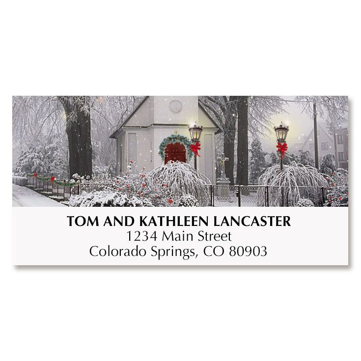 Blessings Christmas Deluxe Address Labels