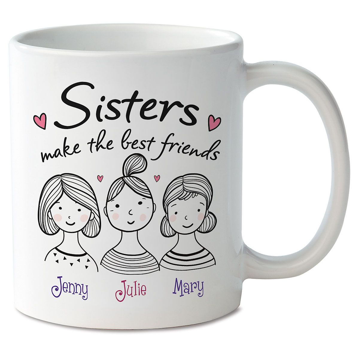 Sisters Personalized Mug