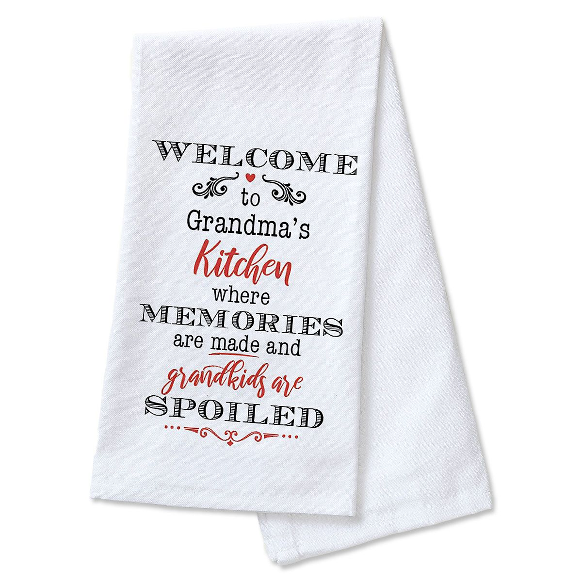Grandma's Personalized Kitchen Towel