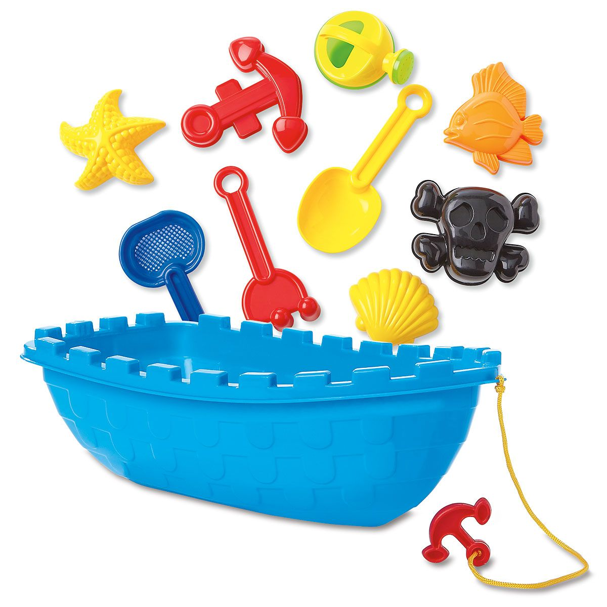 Pirate Boat Sand Toy