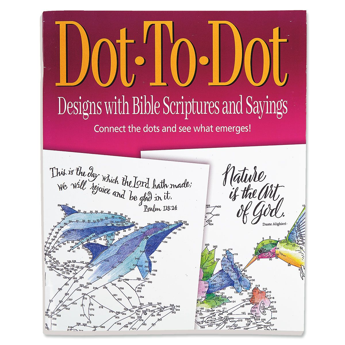 Biblical Dot-To-Dot Designs Book