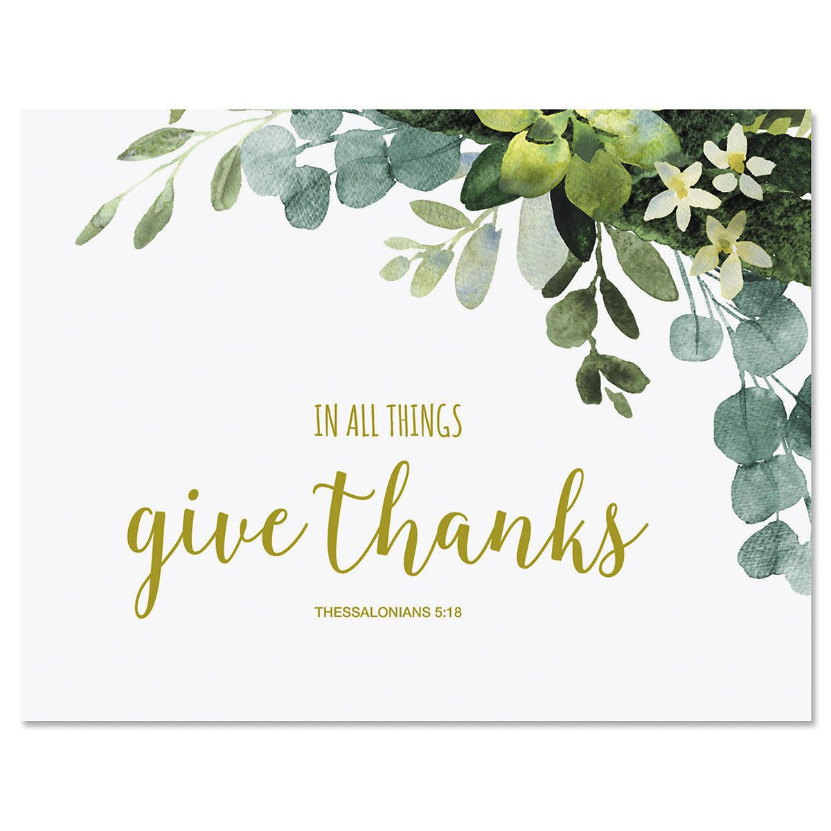 Faith Thank You Note Cards