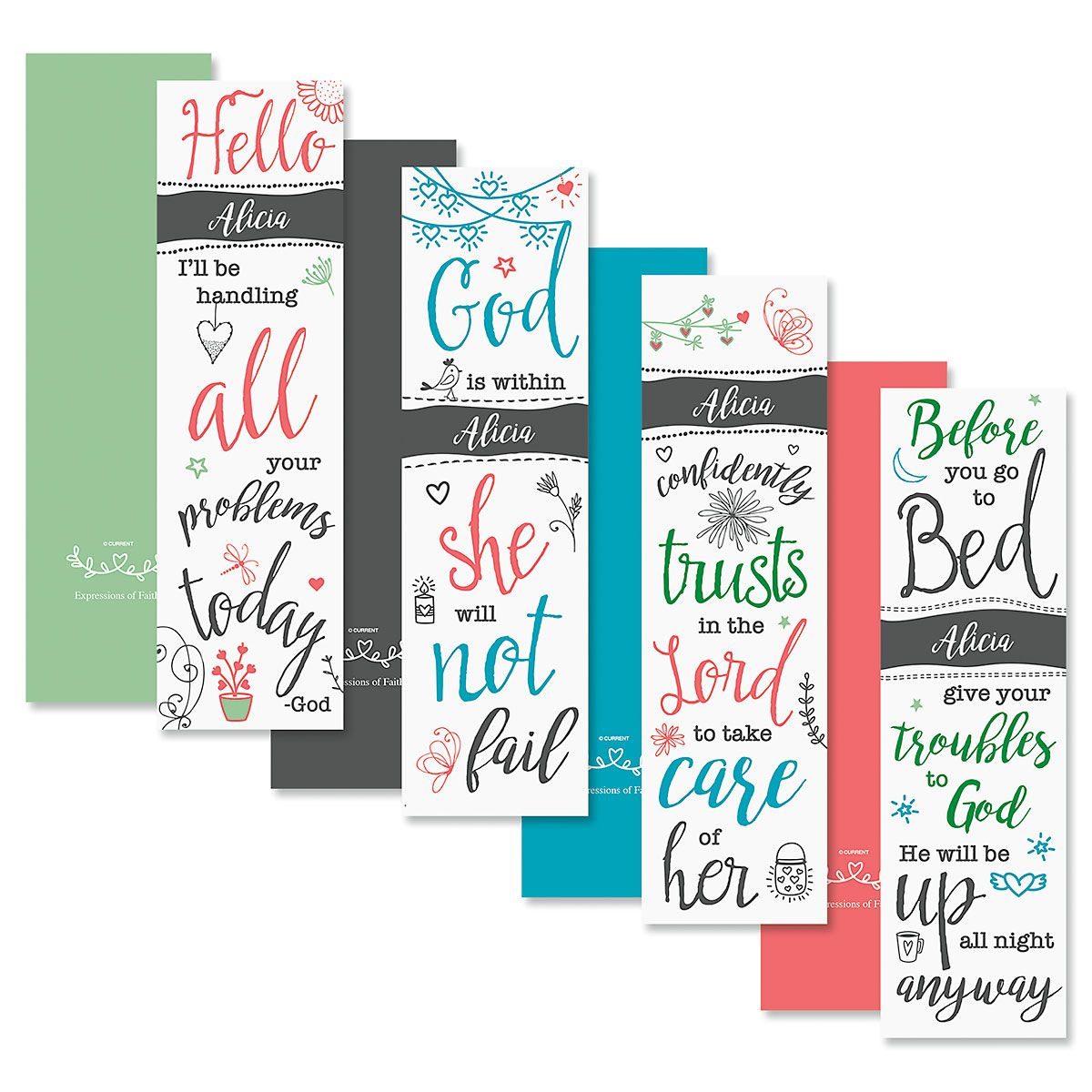 Faith Personalized Bookmarks