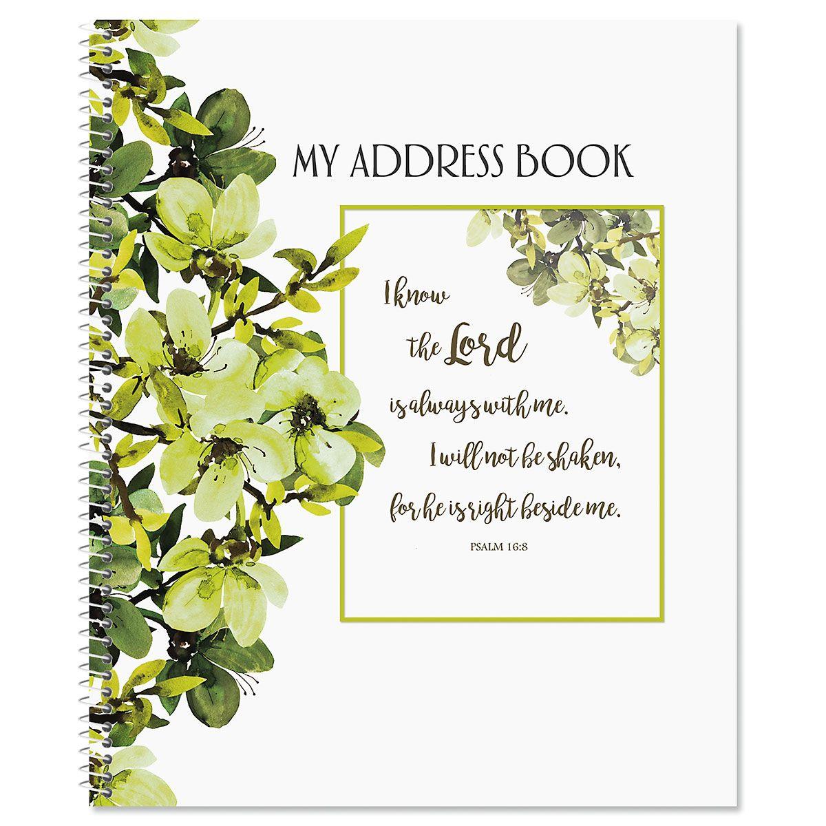 Faith Large Print Address Book