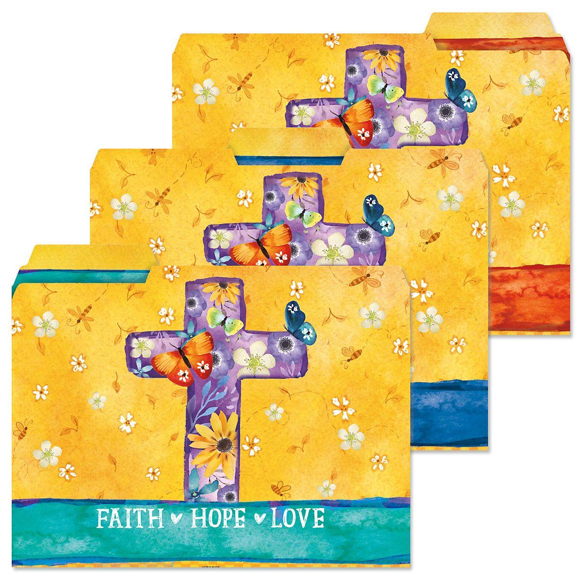 Faith Themed File Folders