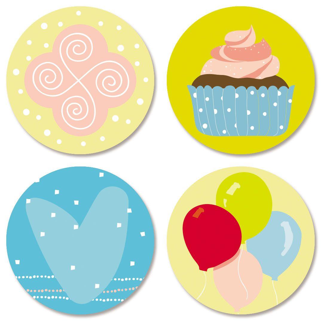 You Make Me Smile Seals (4 Designs)