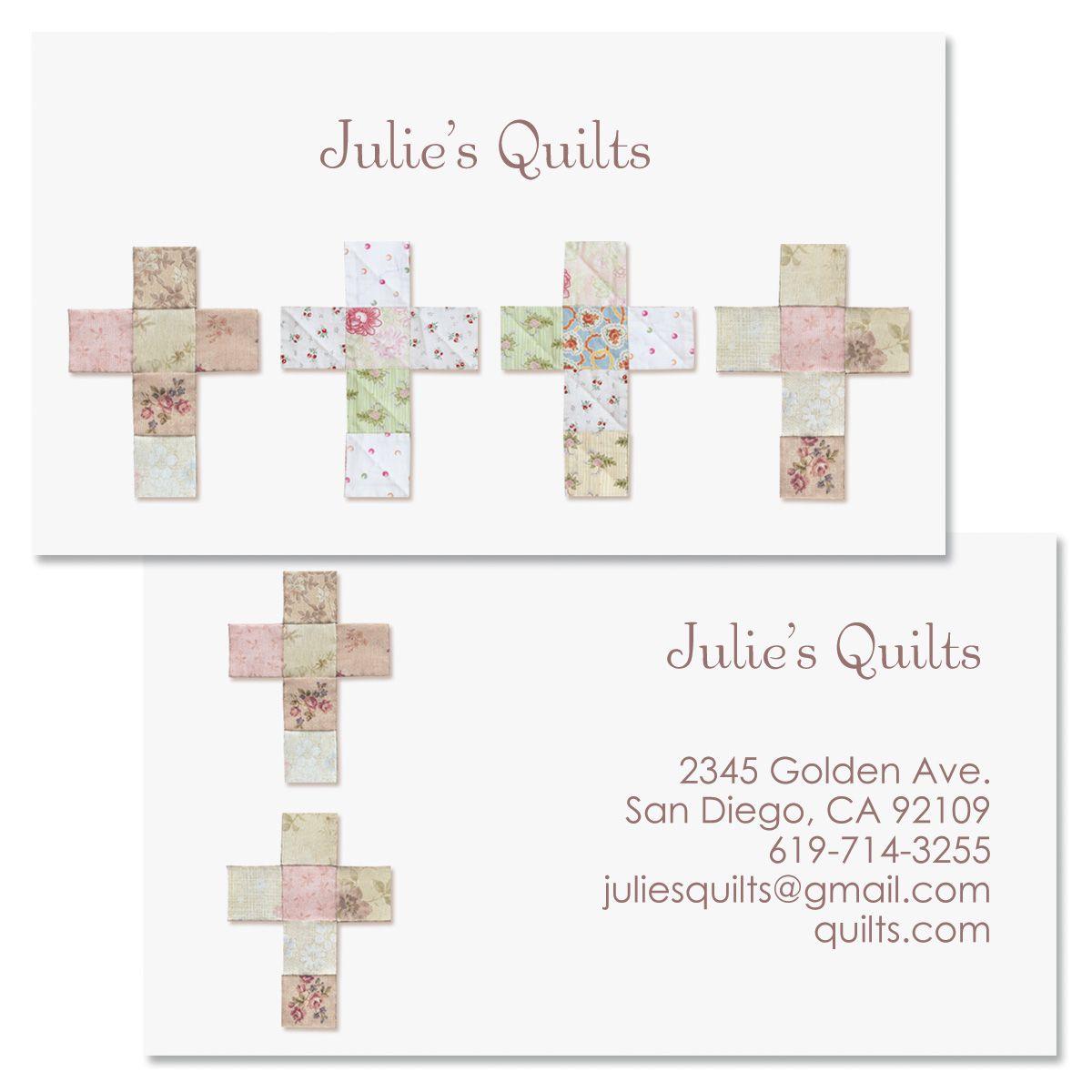 Patchwork Faith Double-Sided Business Card