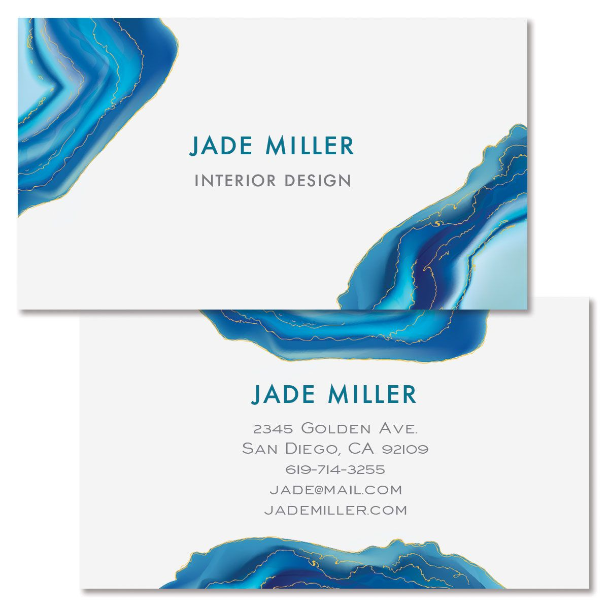 Agate Double-Sided Business Card