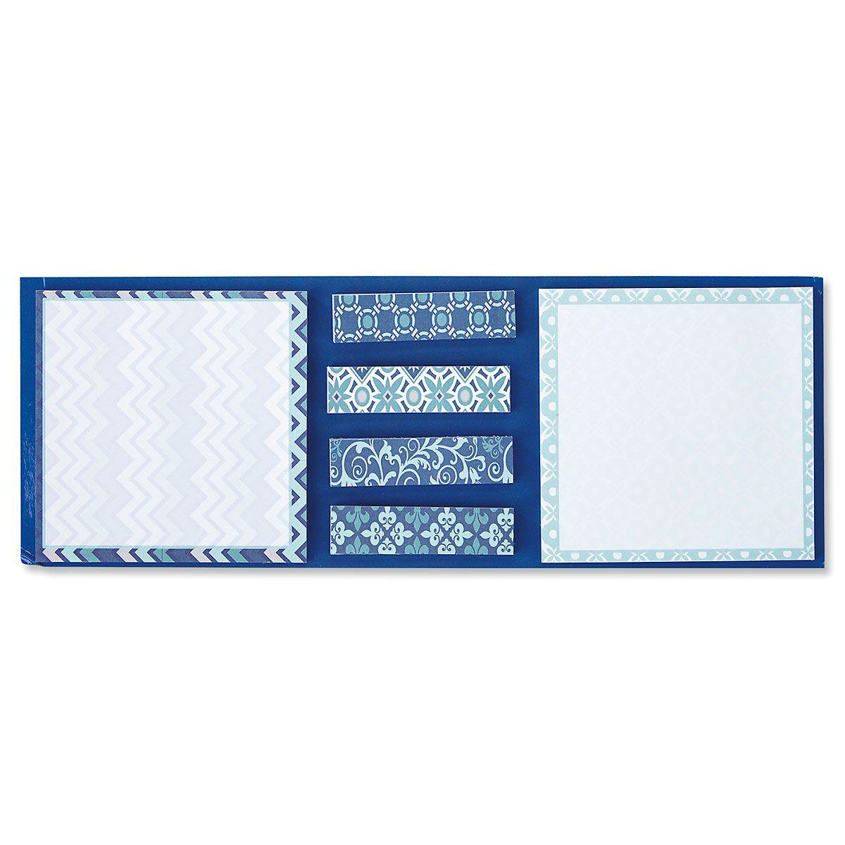 Coastal Blue Sticky Note Set