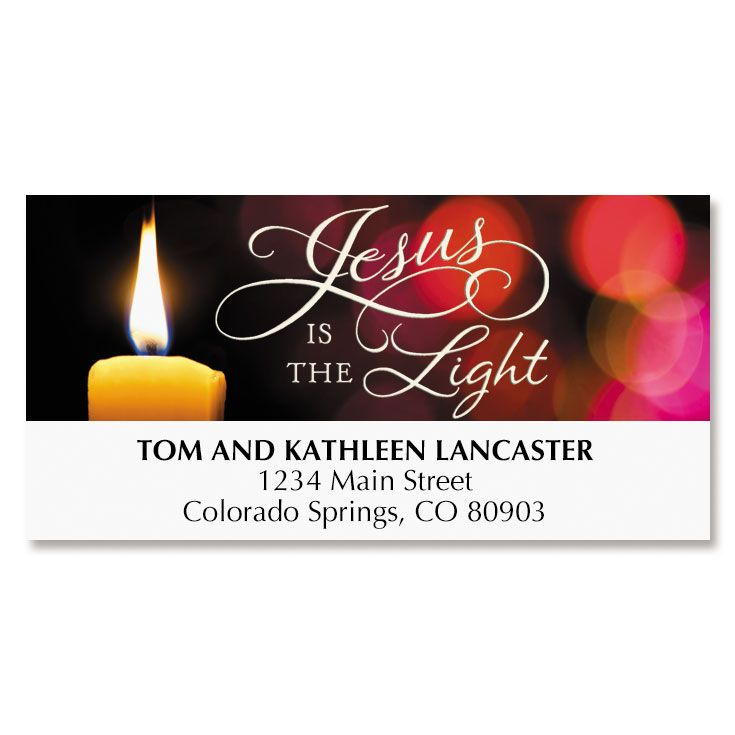 Light of Life Deluxe Address Labels