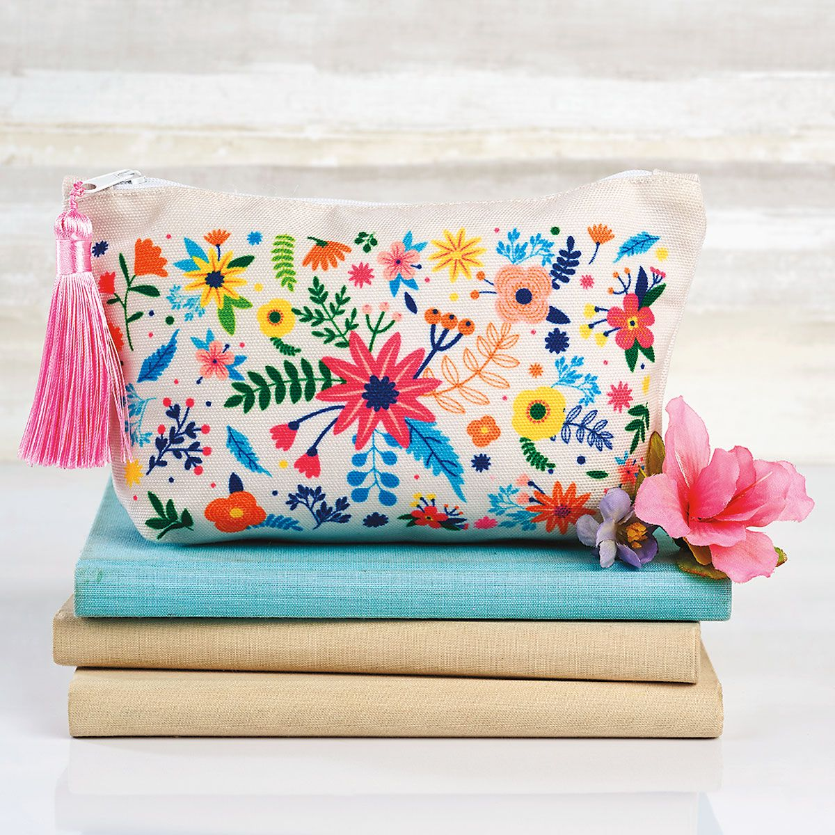 Flowers Cosmetic Bag - BOGO