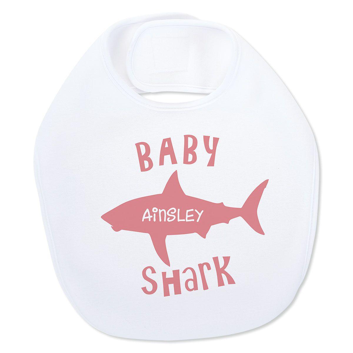 Baby Shark Personalized Bib