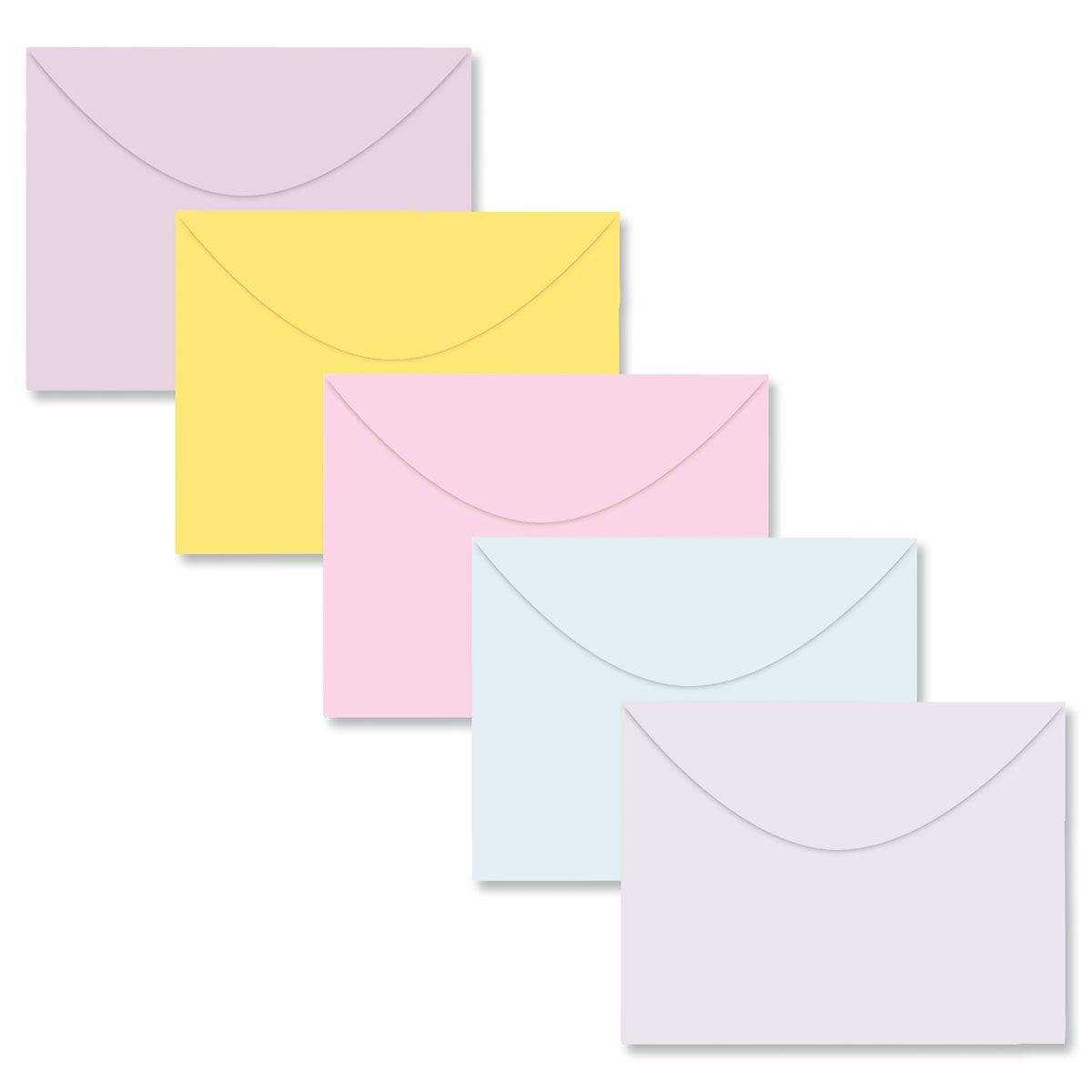 Color Note Card Size Envelopes