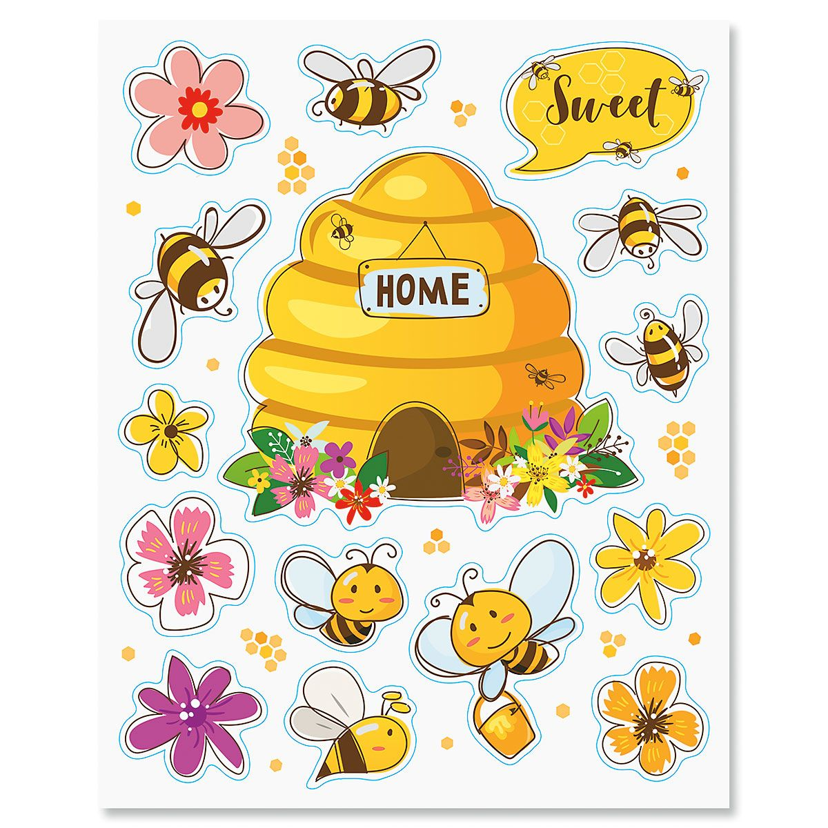 Beehive Magnet Set