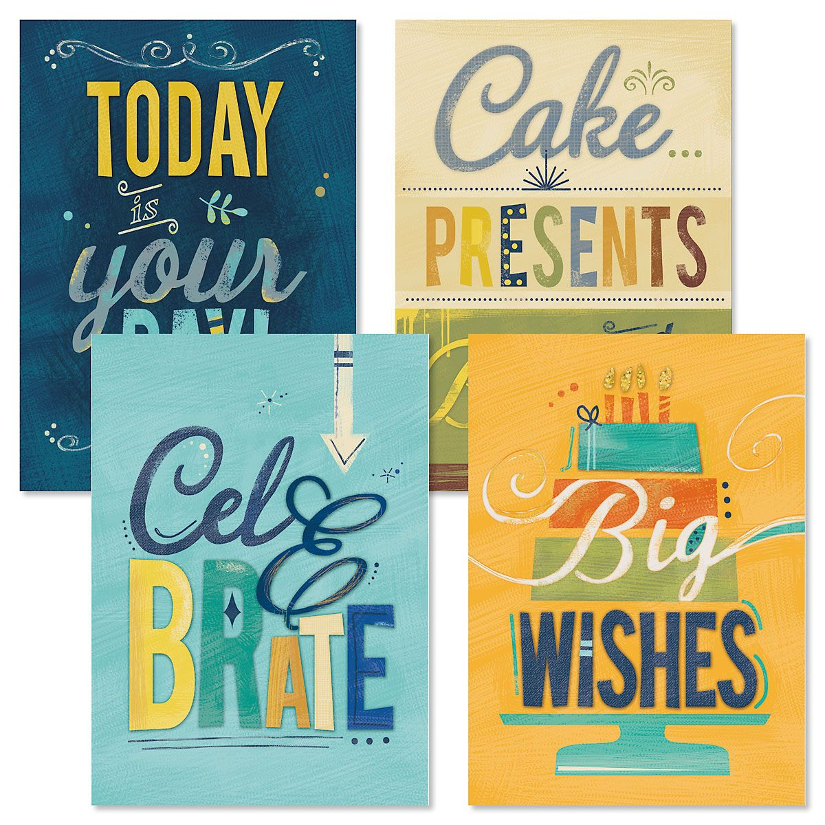 Big Wishes Birthday Cards and Seals