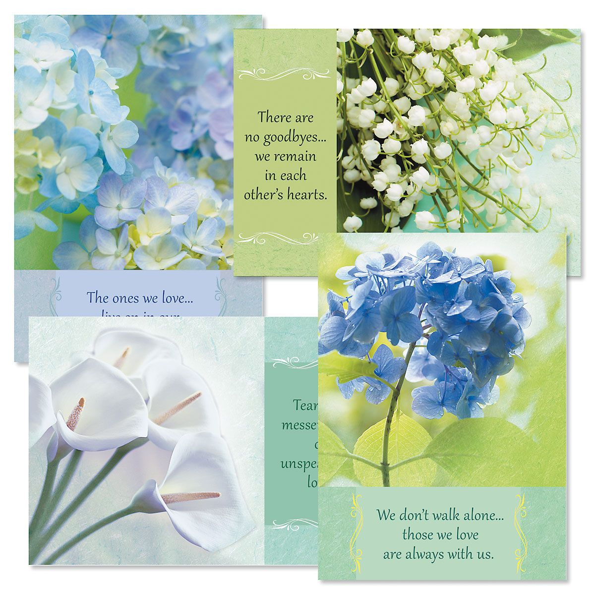 Hope in Prayer Sympathy Cards and Seals