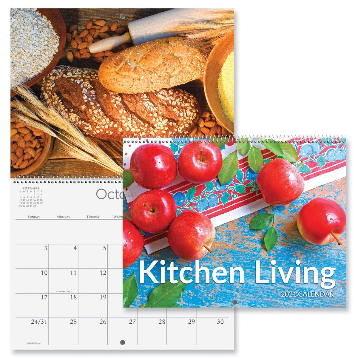 2021 Kitchen Living Wall Calendar