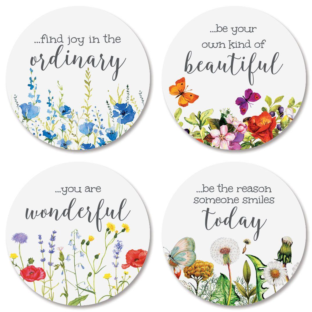 Wild Flower Envelope Seals (4 Designs)