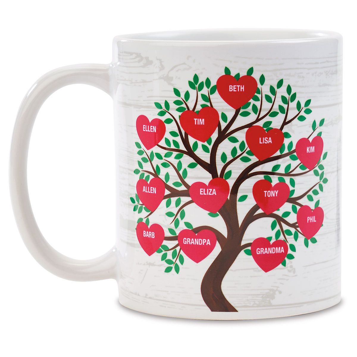 Family Tree Personalized Mug