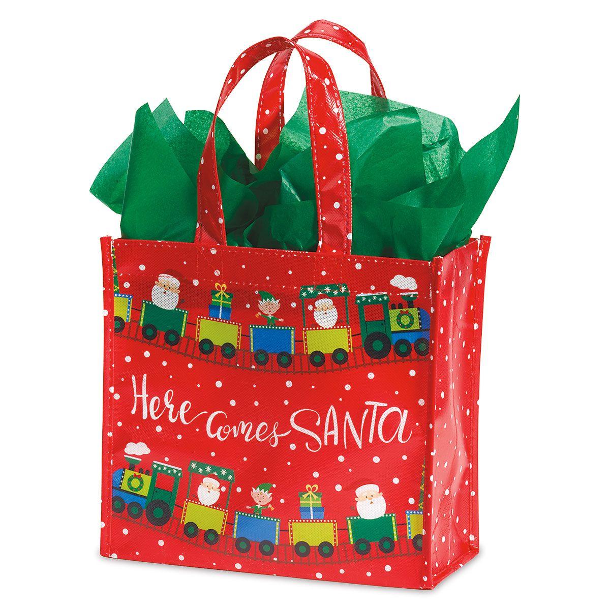 Santa's Helpers Cub Shopping Totes - BOGO