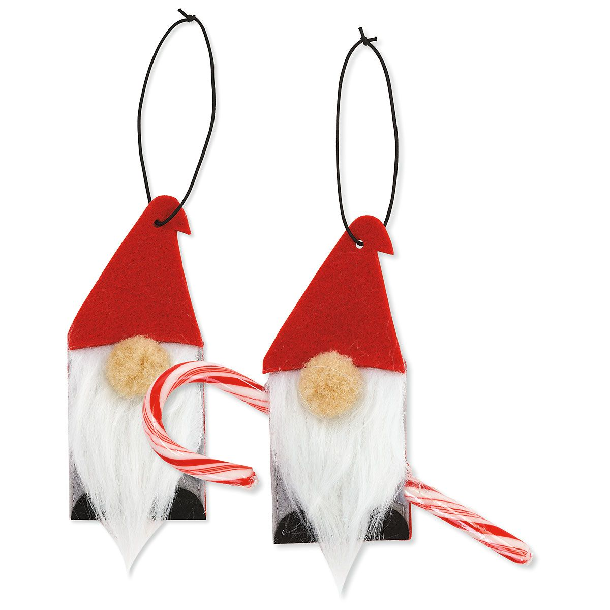 Gnome Candy Cane Holders