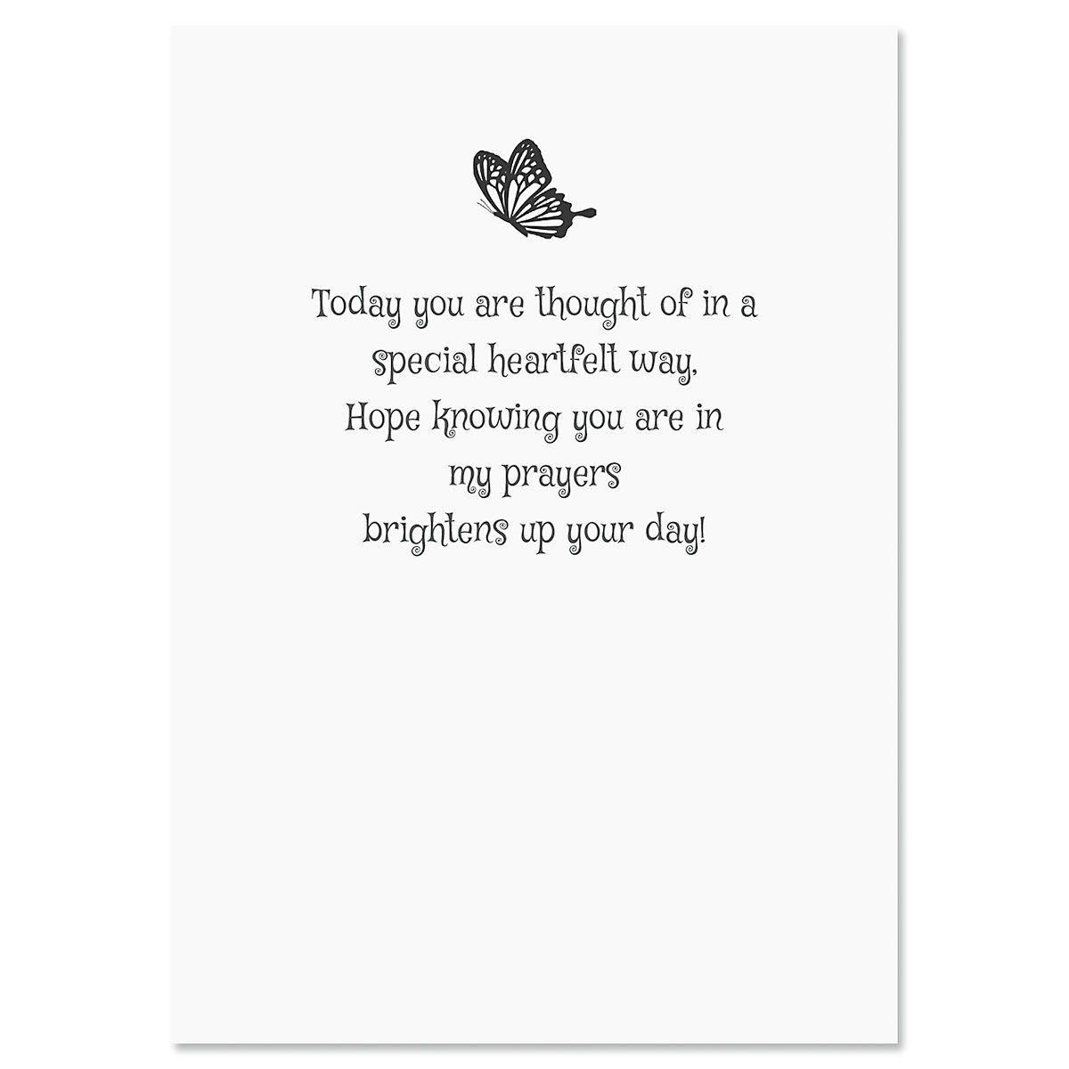 Butterfly Thinking of You Cards - BOGO