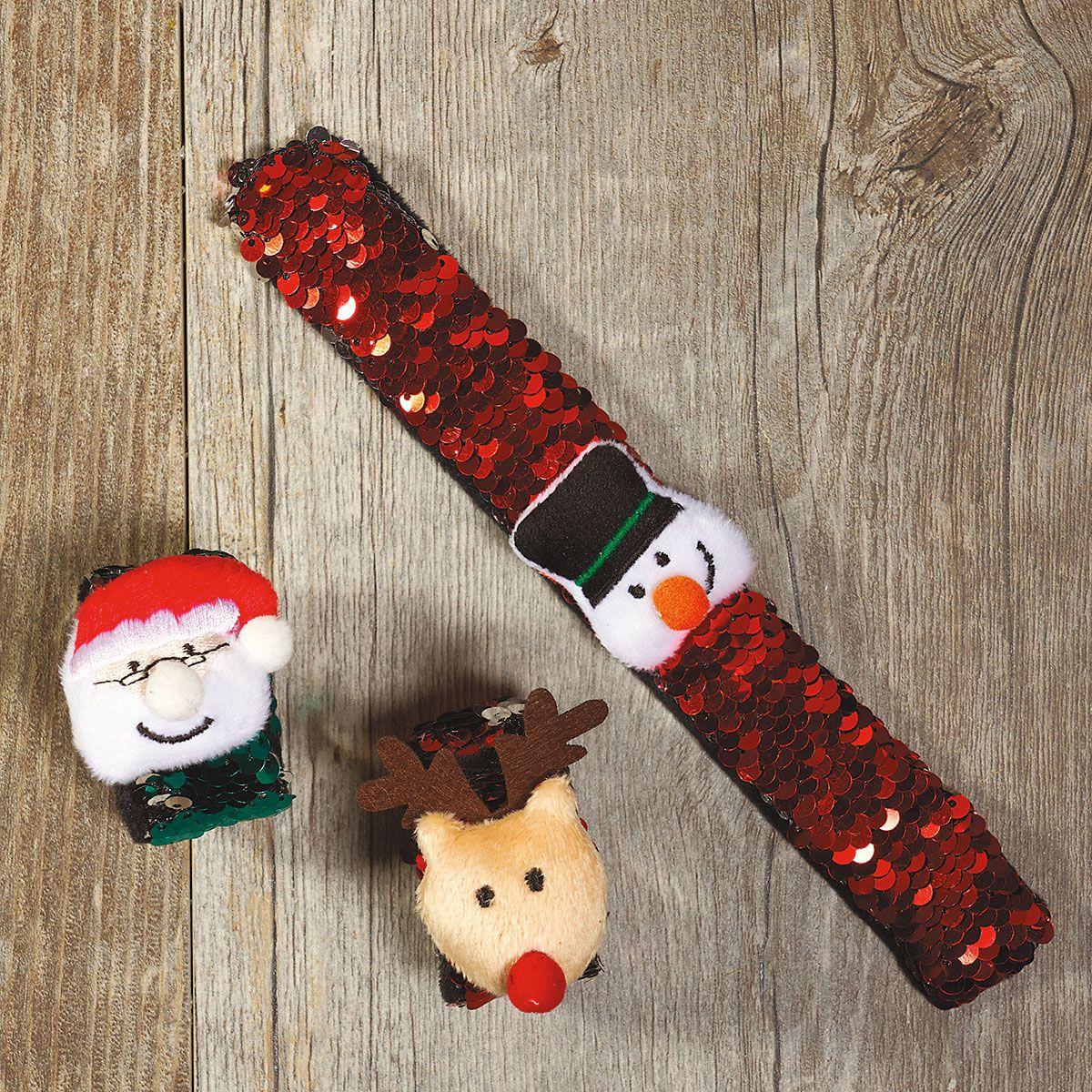 Holiday Slap Bracelets