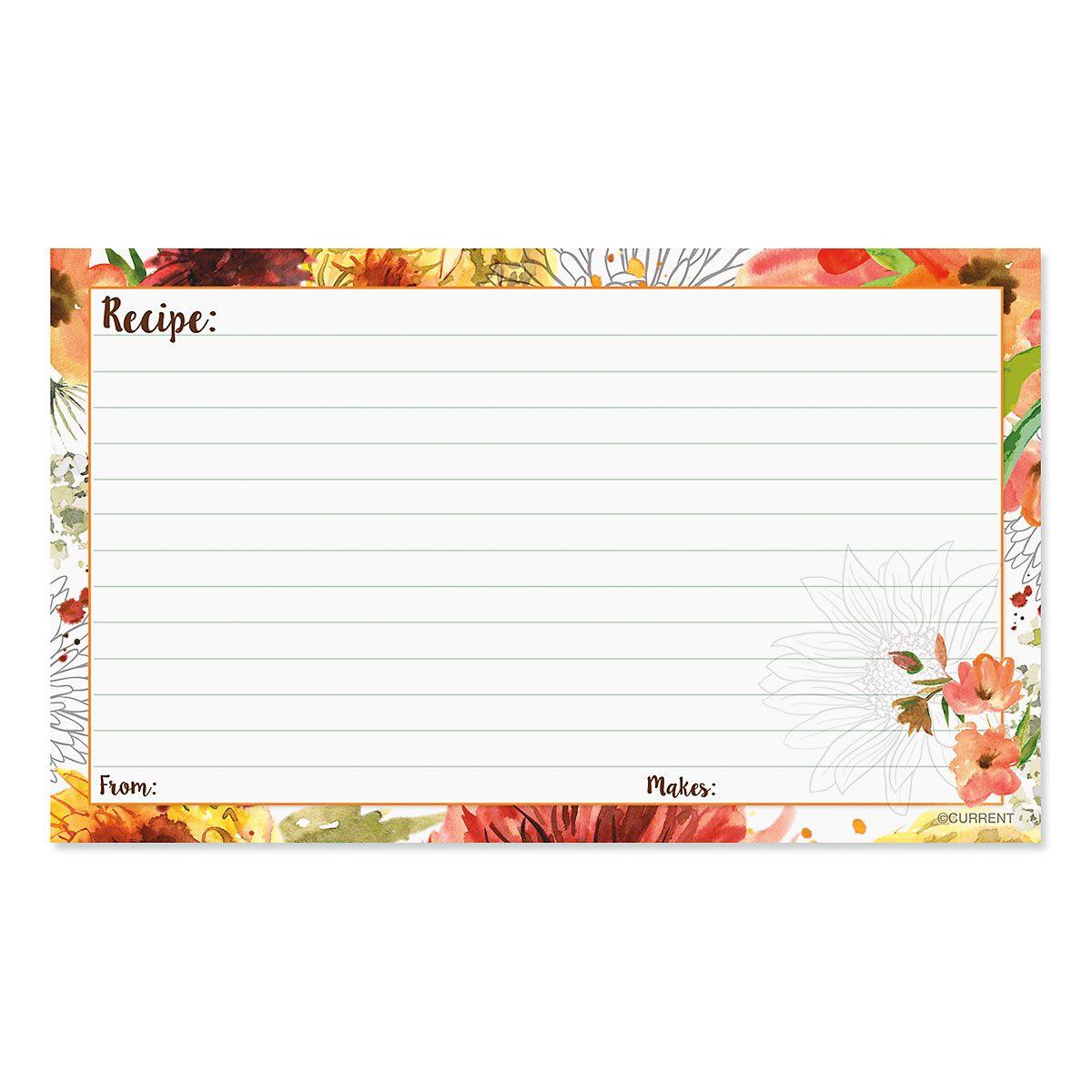 Mums Recipe Cards - BOGO