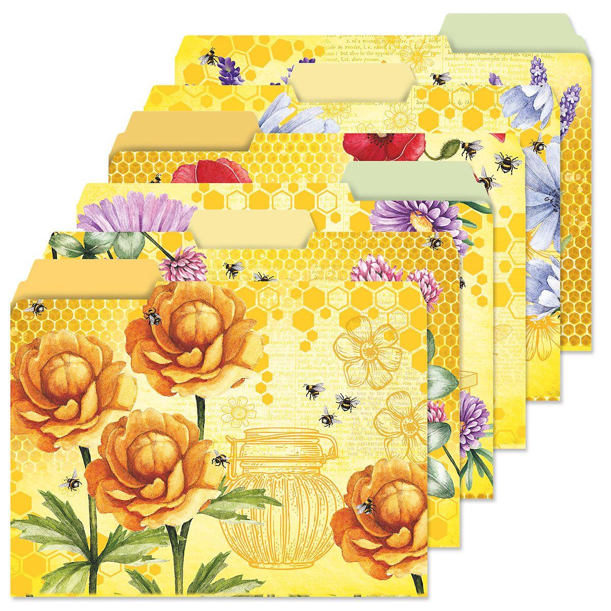 Bee Friends File Folders Value Pack