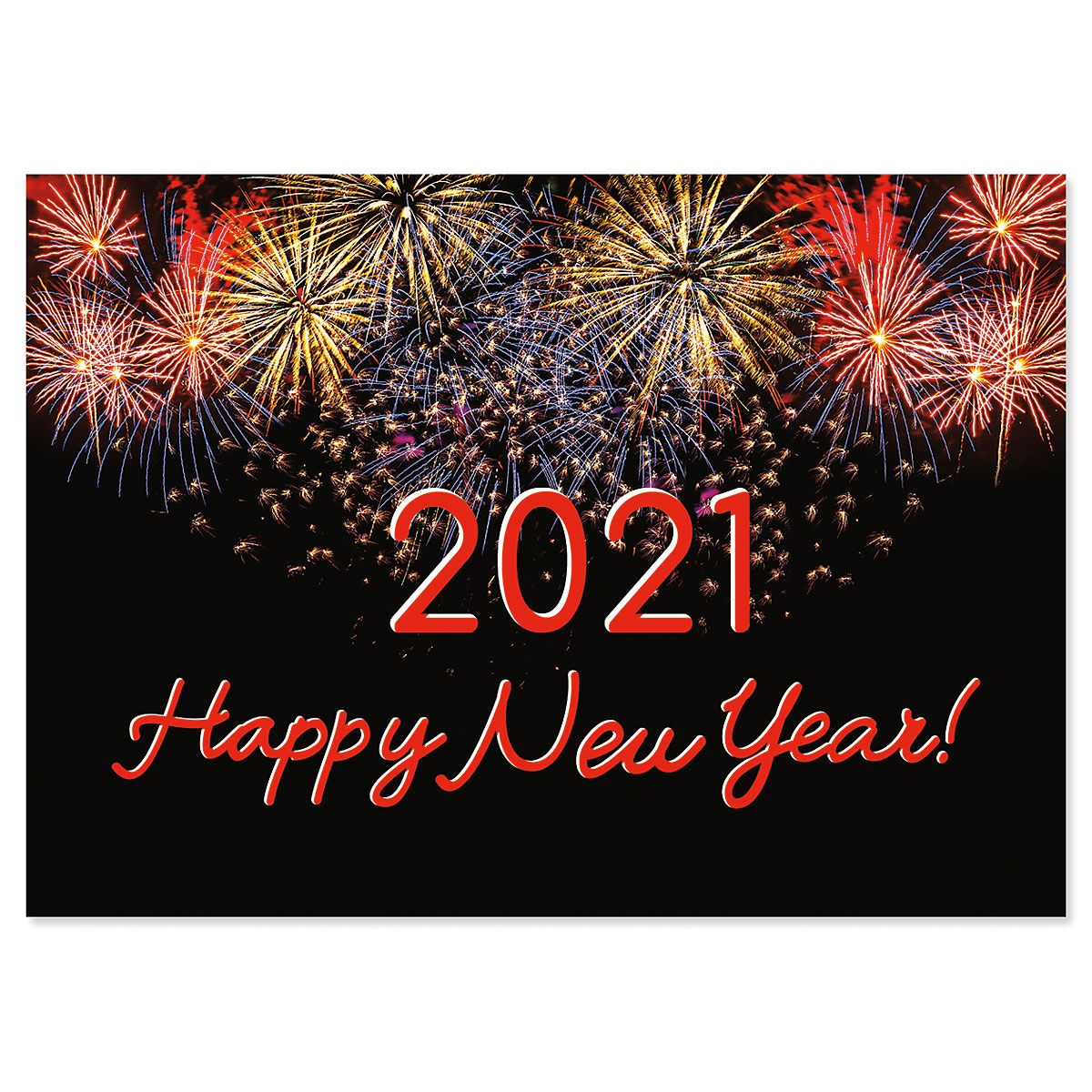 2021 Happy New Years Card Current Catalog