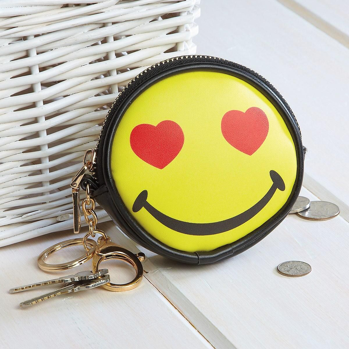 Happy Face Coin Purse