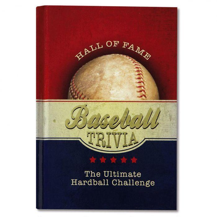 Baseball Hall of Fame Trivia Book